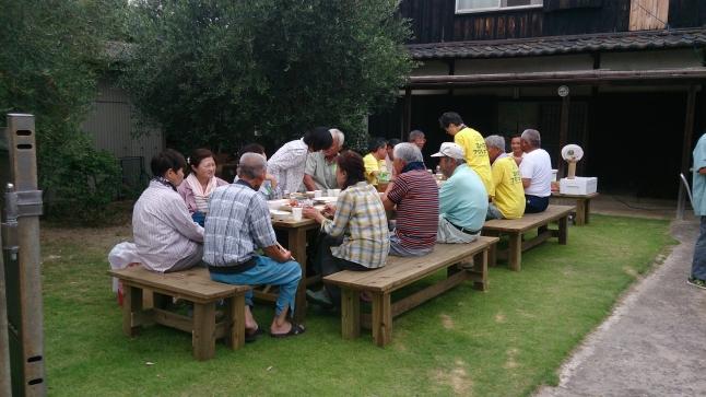檀山桜並木草刈りボランティアの皆さん、 ありがとうございました。